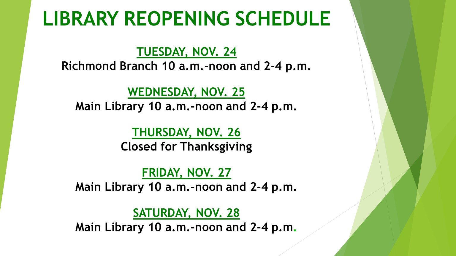 library reopening2