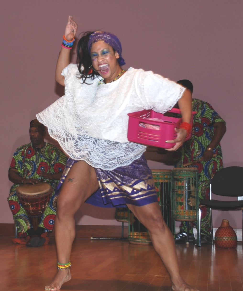 Afro-One at 2011 Kwanzaa program